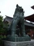 御岳の狛犬