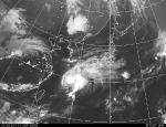 台風13号(気象庁のページから)