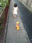 桧家のビニール人形