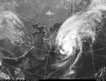 気象庁の衛星写真より